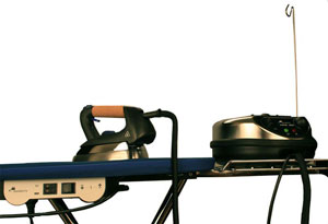 Парогенератор с утюгом