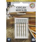 Иглы ORGAN титаниум 5/75-90