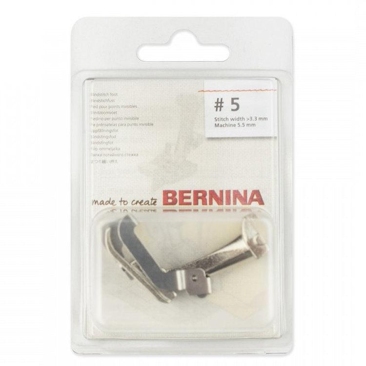 Лапка Bernina 5 для потайного шва