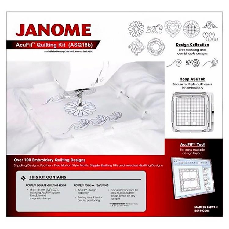 Набор для квилтинга для Janome 550E, 500E, 450E, 400E