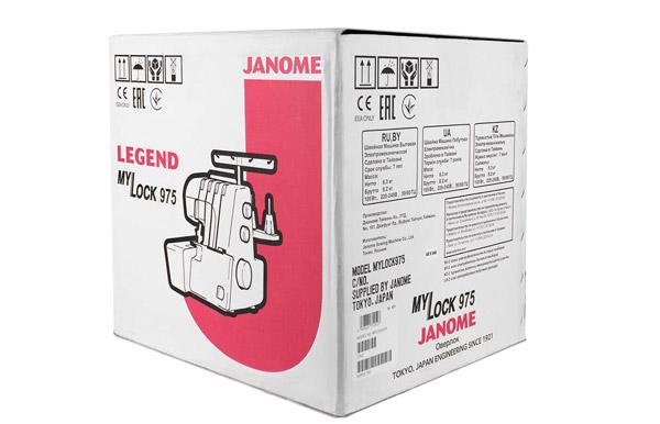 Оверлок Janome MyLock 975