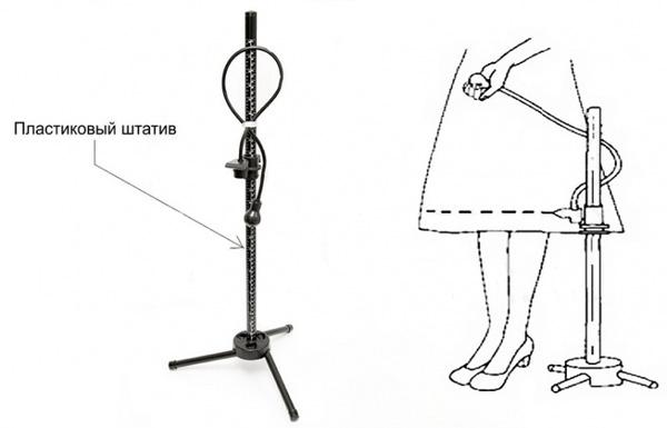Манекен женский портновский My Double Lady Valet M, 50-58 black