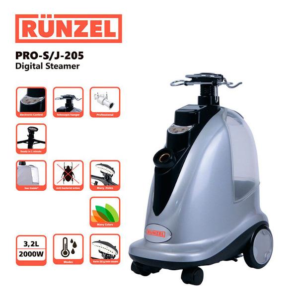 Отпариватель Runzel PRO-S/J-205 Digital Steamer