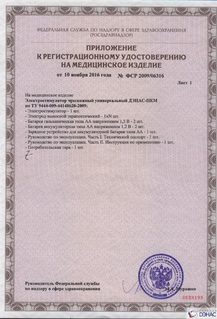 ДЭНАС-ПКМ