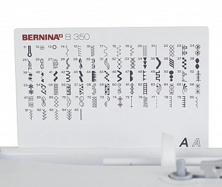 Электронная швейная машина Bernina 350 PE