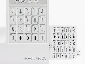 Швейная машинка Janome Sewist 780DC