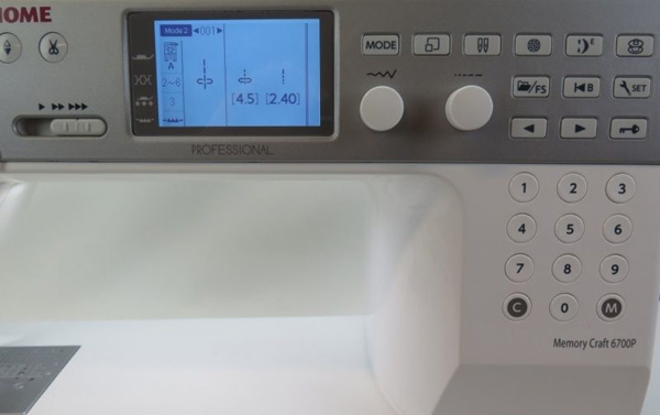Швейная машинка Janome Memory Craft 6700P