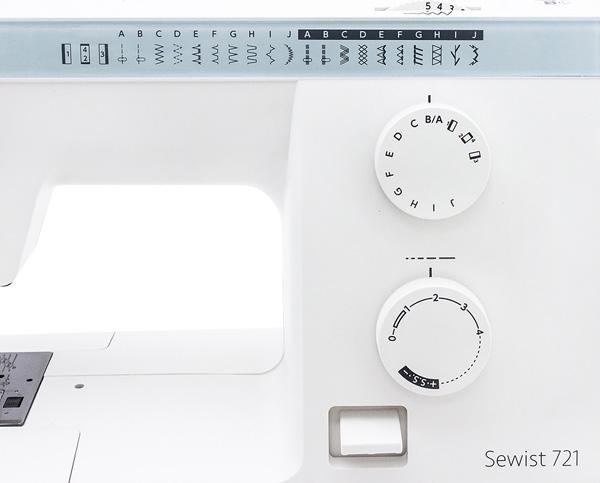 Швейная машинка Janome Sewist 721