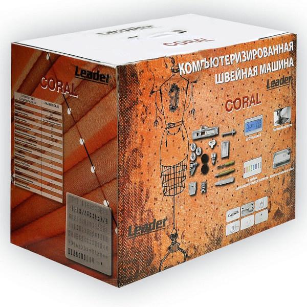 Компьютеризированная швейная машина Leader Coral