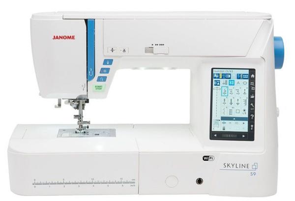 Швейная машина с вышивальным блоком Janome Skyline S9